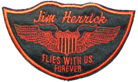 Flies With Us Patch